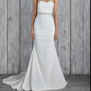 Nicole Miller Melanie Bridal Wedding Dress. Sz 6